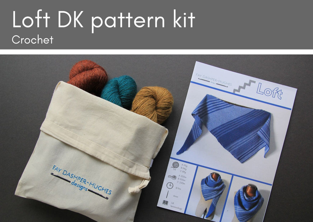 KIT for Loft crochet pattern DK - Provenance Craft Co