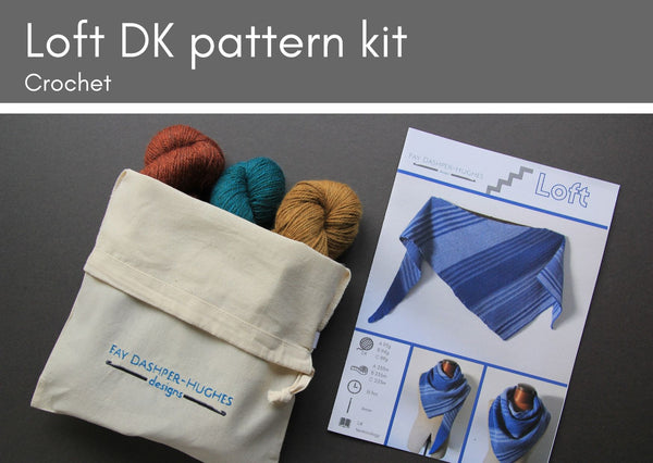 KIT for Loft crochet pattern DK