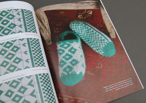 30 Slippers to Knit and Felt by Arne & Carlos