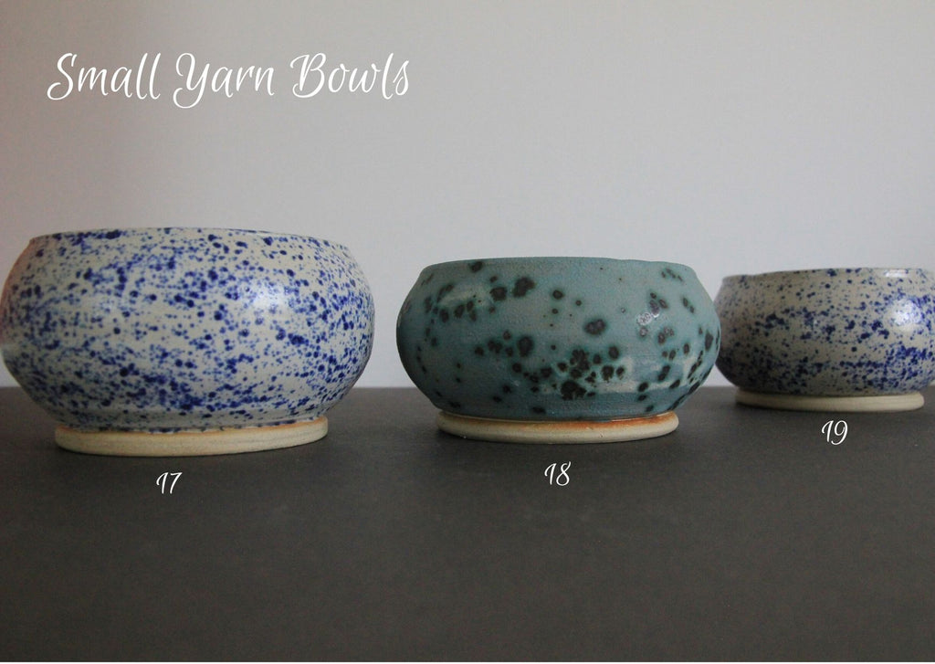 Ceramic Yarn Bowls - three sizes & made in the UK