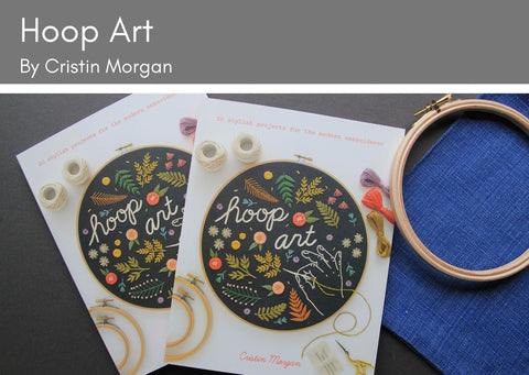 Hoop Art by Cristin Morgan - Provenance Craft Co