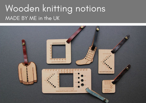 Wooden tools for knitters - Provenance Craft Co