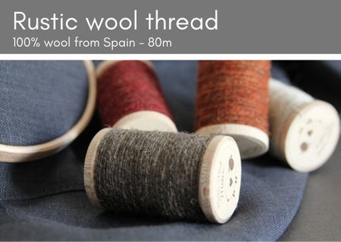 Rustic Moire Thread for embroidery - from Spain - Provenance Craft Co