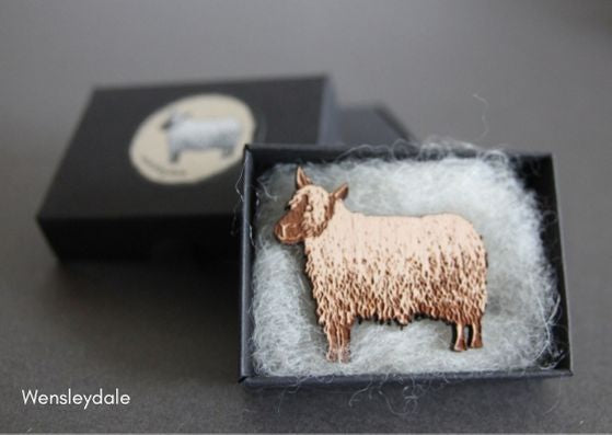 British Breed Brooches by Katie Green