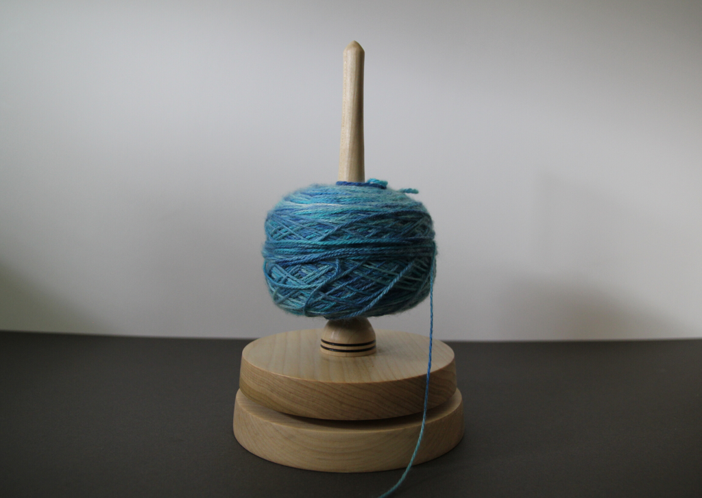 Wooden yarn spinners - made in UK - Provenance Craft Co