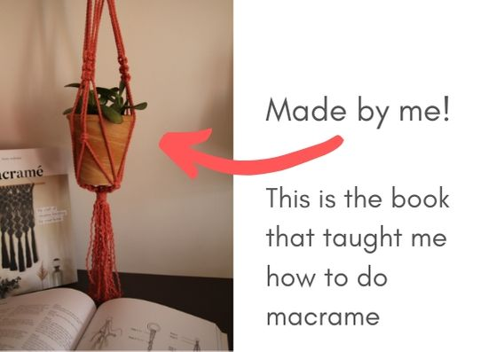 Macrame book by Fanny Zedenius
