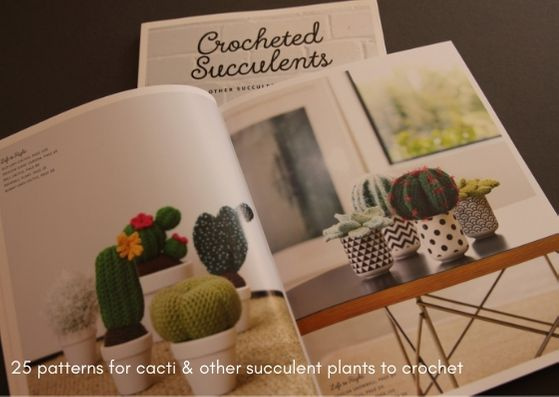 Crocheted Succulents by Emma Varnam