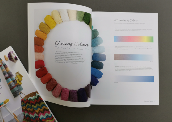 Beginner's Guide to Colourwork Knitting by Elal Austin - Provenance Craft Co
