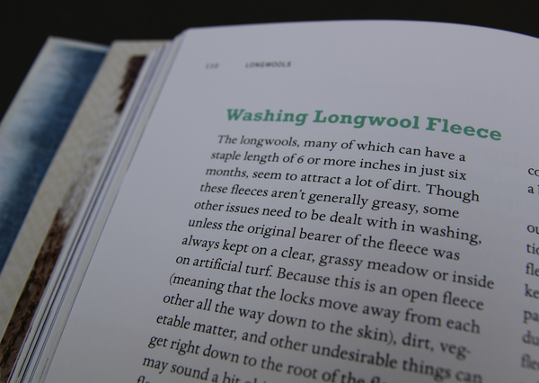 The Spinner's Book of Fleece - Provenance Craft Co