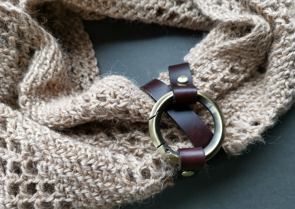Jul designs leather cuffs, shawl pins & sticks and leather fasteners - Provenance Craft Co