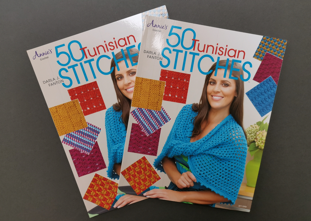 50 Tunisian Crochet stitches - Provenance Craft Co