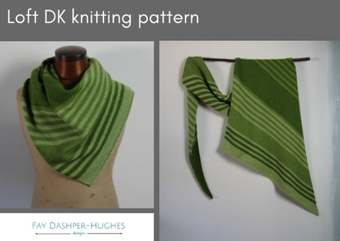 Loft DK knitting pattern - digital or hard copy