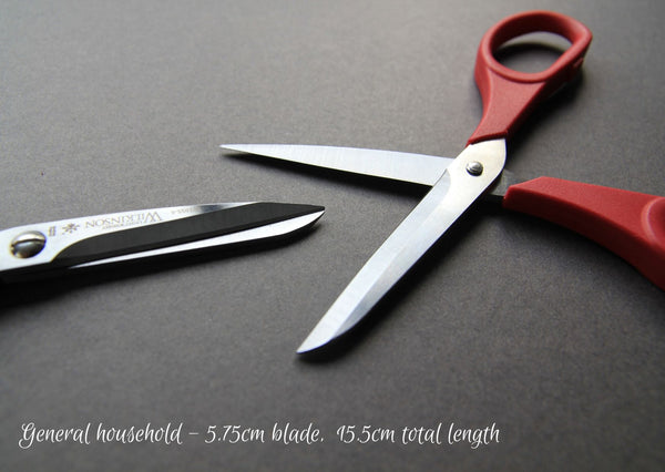 Scissors - Made in England, various sizes