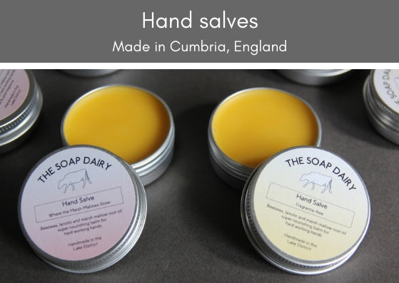 Hand salve (palm oil free) - made in the UK