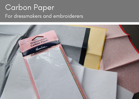 Carbon paper for dress makers and embroiderers - Provenance Craft Co