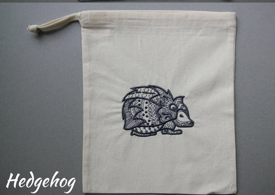 Bag embroidery kits (Fauna - 8 designs & 5 colourways to choose from)