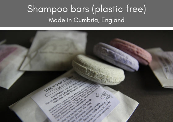 Shampoo bars (plastic free) - made in the UK