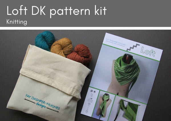 KIT for Loft knitting pattern DK