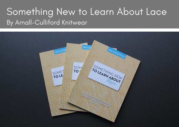 Knitting Technique books by Arnall-Culliford Knitwear