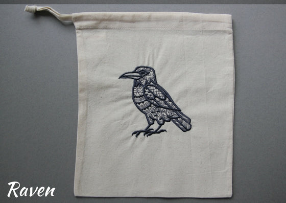 Bag embroidery kits (Fauna - 8 designs & 5 colourways to choose from) - Provenance Craft Co