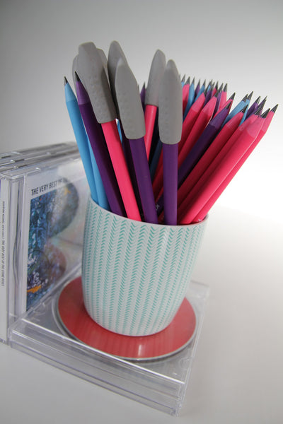 Eraser pencil protectors - pack of 2 - Provenance Craft Co