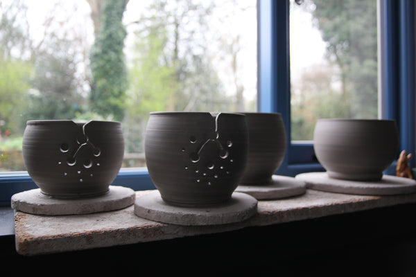 Ceramic Yarn Bowls - three sizes & made in the UK - Provenance Craft Co