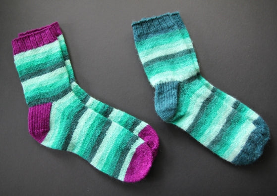 Mini Mania sock knitting pattern - digital or hard copy