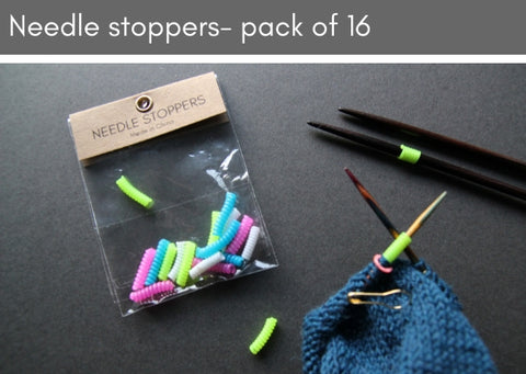 Needle stoppers - pack of 16 - Provenance Craft Co