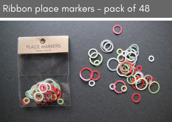 Ribbon place markers - pack of 48