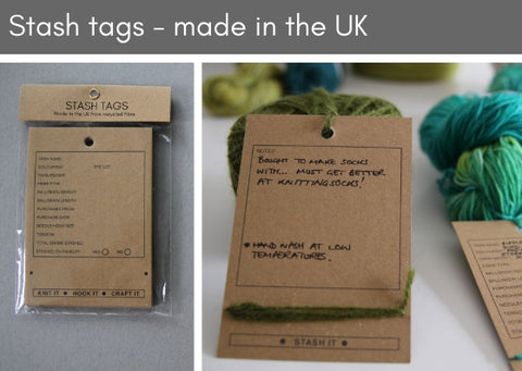 Stash tags - pack of 10