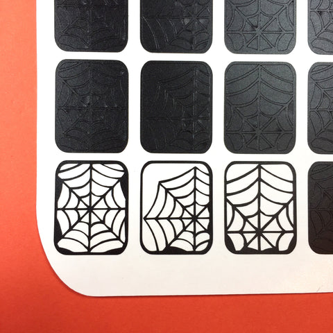 Spiders Web Nail Vinyls