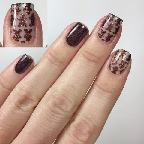 Gingerbread Nail Vinyls