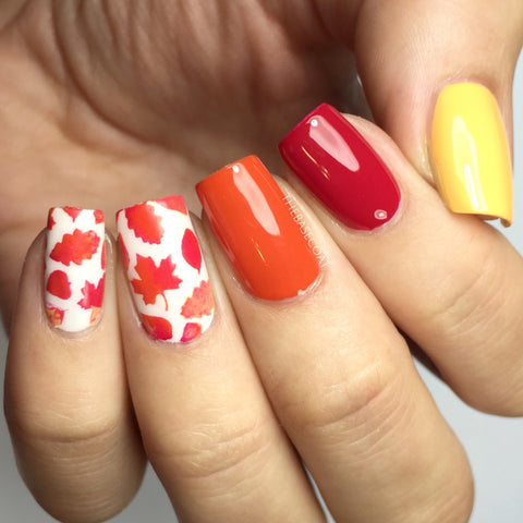Fall Leaves Nail Vinyls