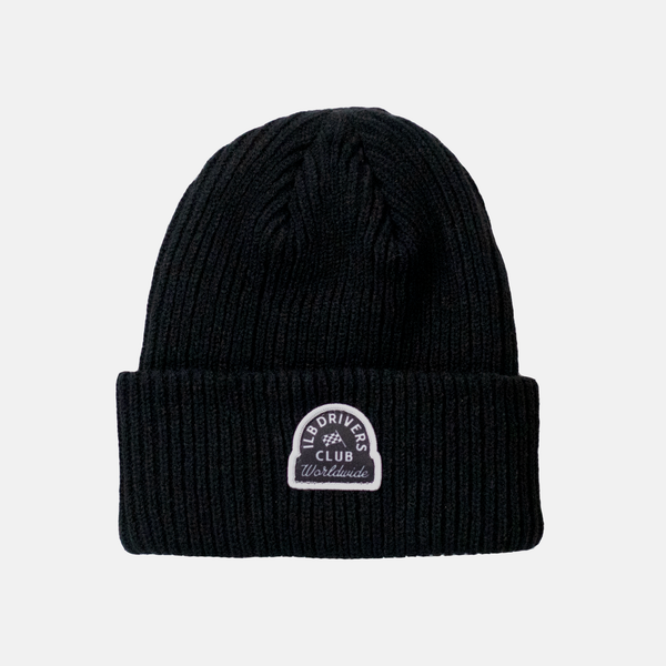 Black Late Nights Beanie
