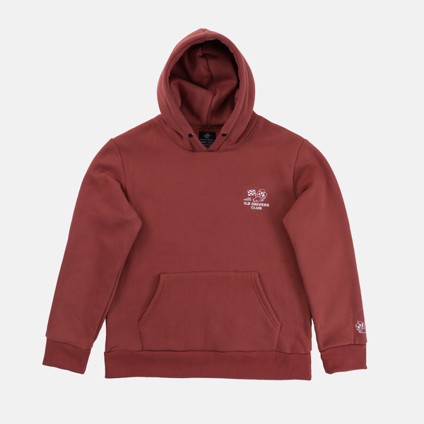 Dark Coral Late Nights Hoodie
