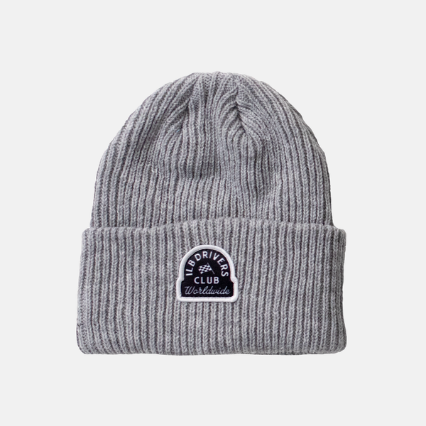 Grey Late Nights Beanie