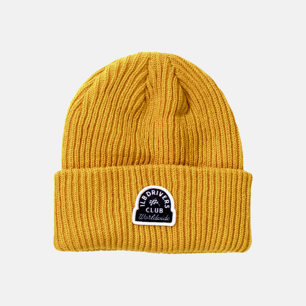 Mustard Late Nights Beanie