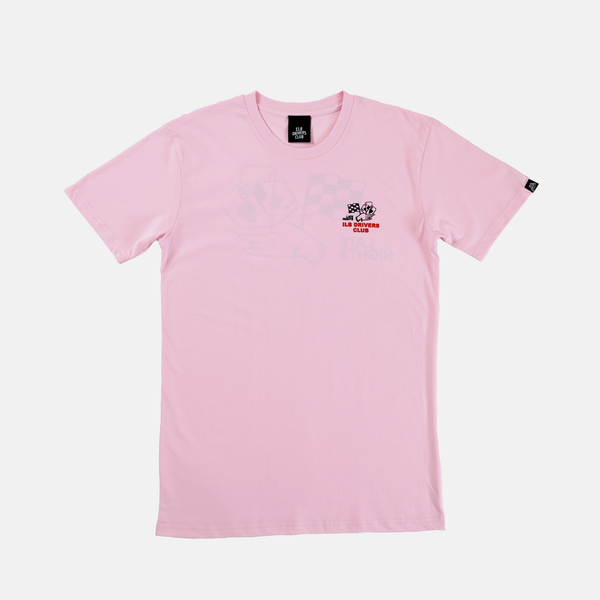Pink Late Nights Tee