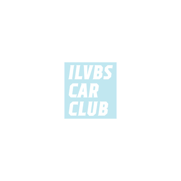 ILVBS Car Club Sticker