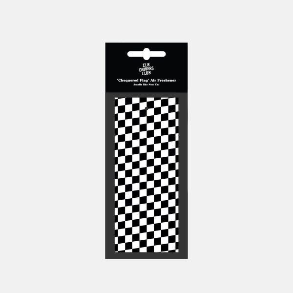 Chequered Flag Air Freshener