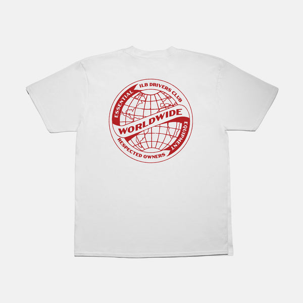 Red Worldwide Tee