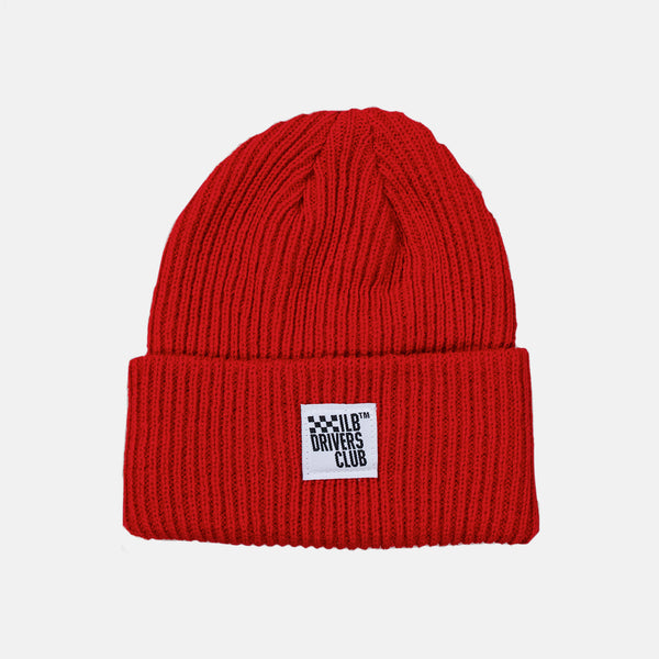 Red Worldwide Beanie