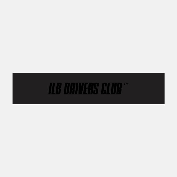 ILB Drivers Club Sunstrip