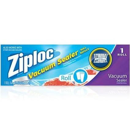 "Ziploc® Single 8"" x 9' Vacuum Sealer Roll Refills"
