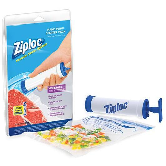 Ziploc® Hand Pump Manual Vacuum Sealer Unit