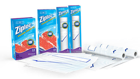 Ziploc® Vacuum Refill Bags For Use With Hand Pump