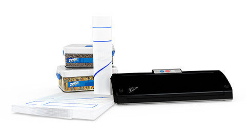 Ziploc® V204 Black Vacuum Sealer Machine MegaBundle