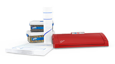 Ziploc® V203 Red Vacuum Sealer Machine MegaBundle