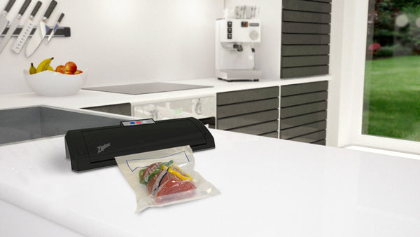 Ziploc® V204 Black Vacuum Sealer Machine