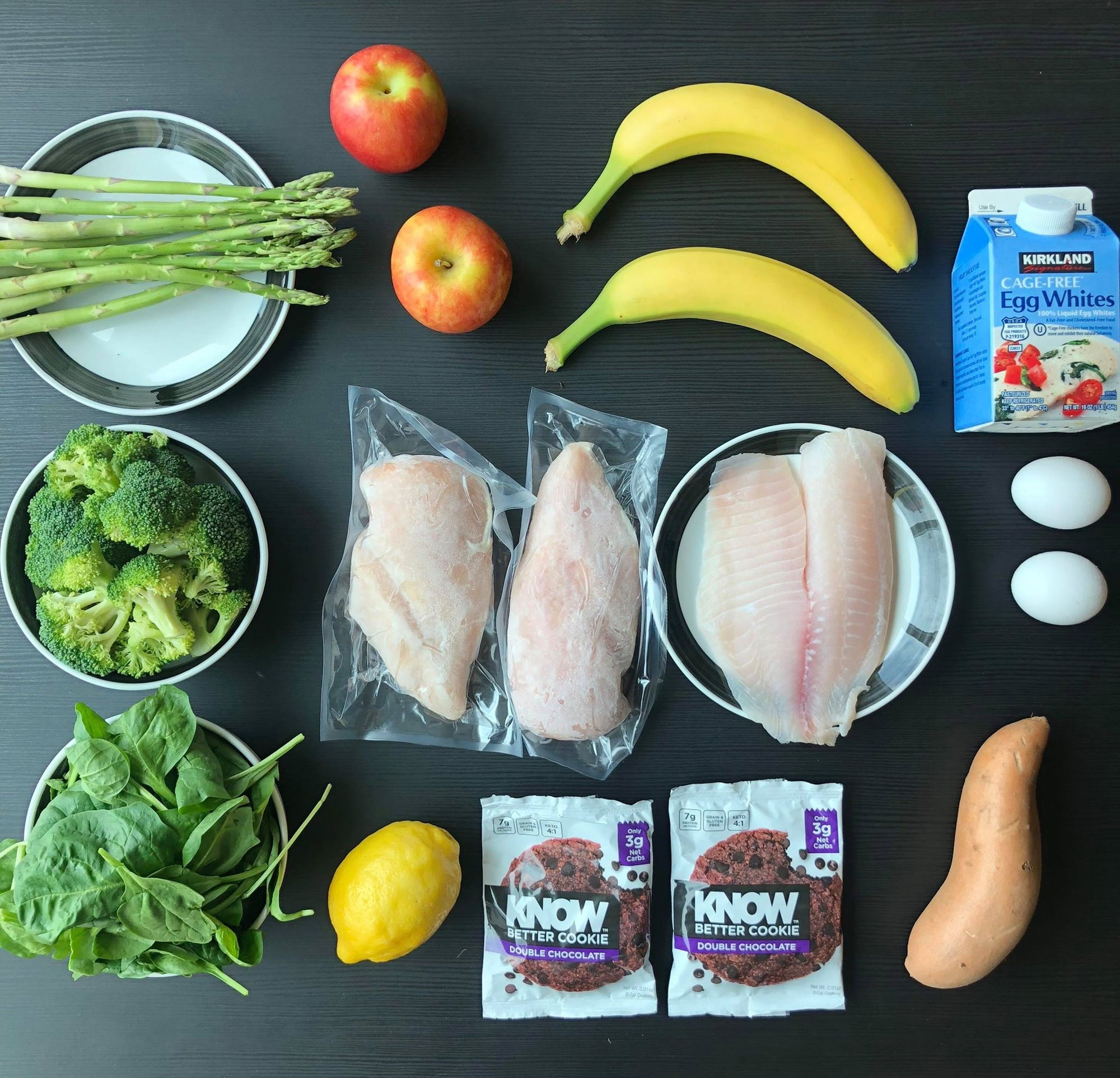 How One Couple Shops and Preps a Week's Worth of Healthful Meals